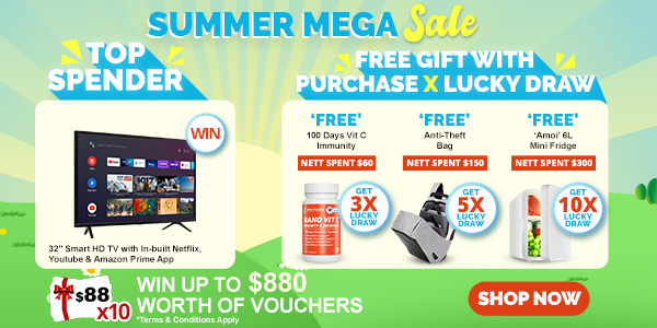 Nano Singapore Singapore Summer Mega Sales from 11 May – 11 Jul 2021