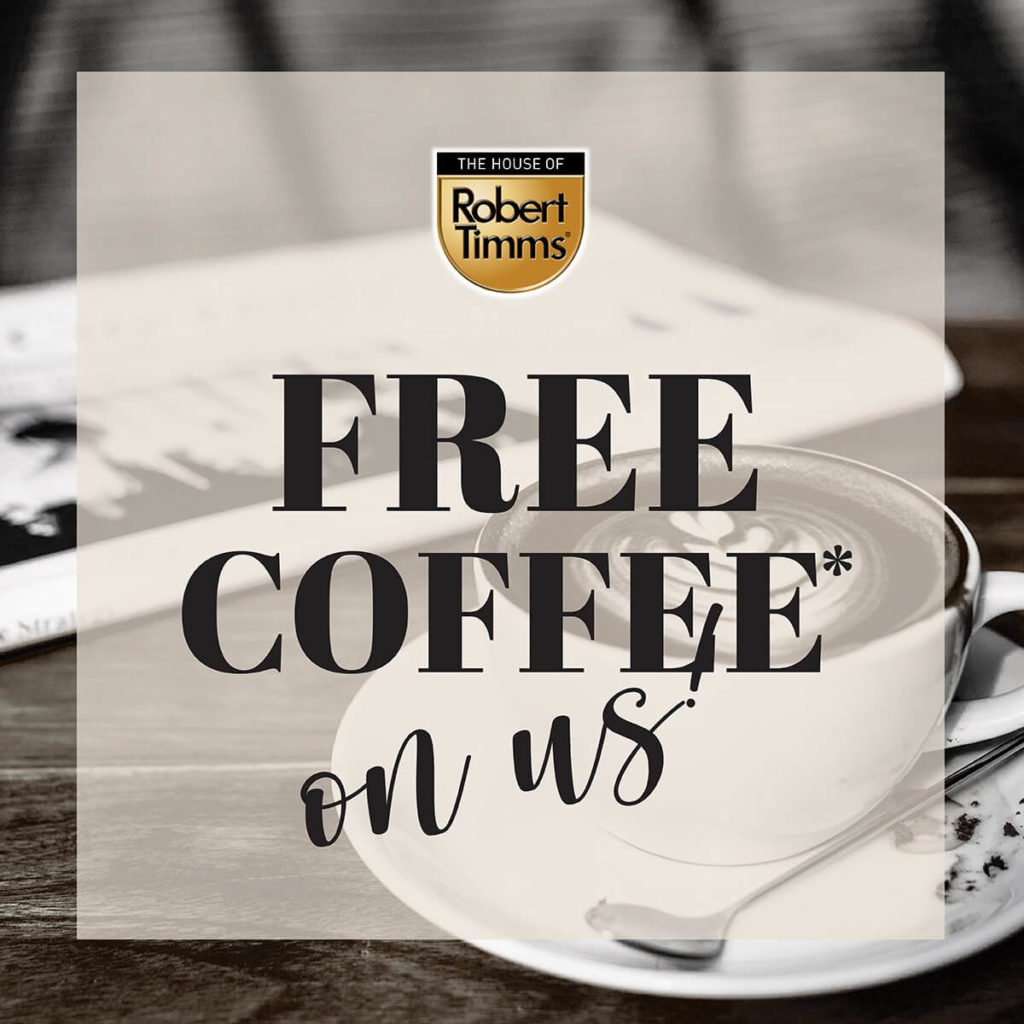 [Promotion] $10 Takeaway Voucher, FREE Coffee & FREE Delivery from tcc & The House Of Robert Timms   Why Not Deals 1