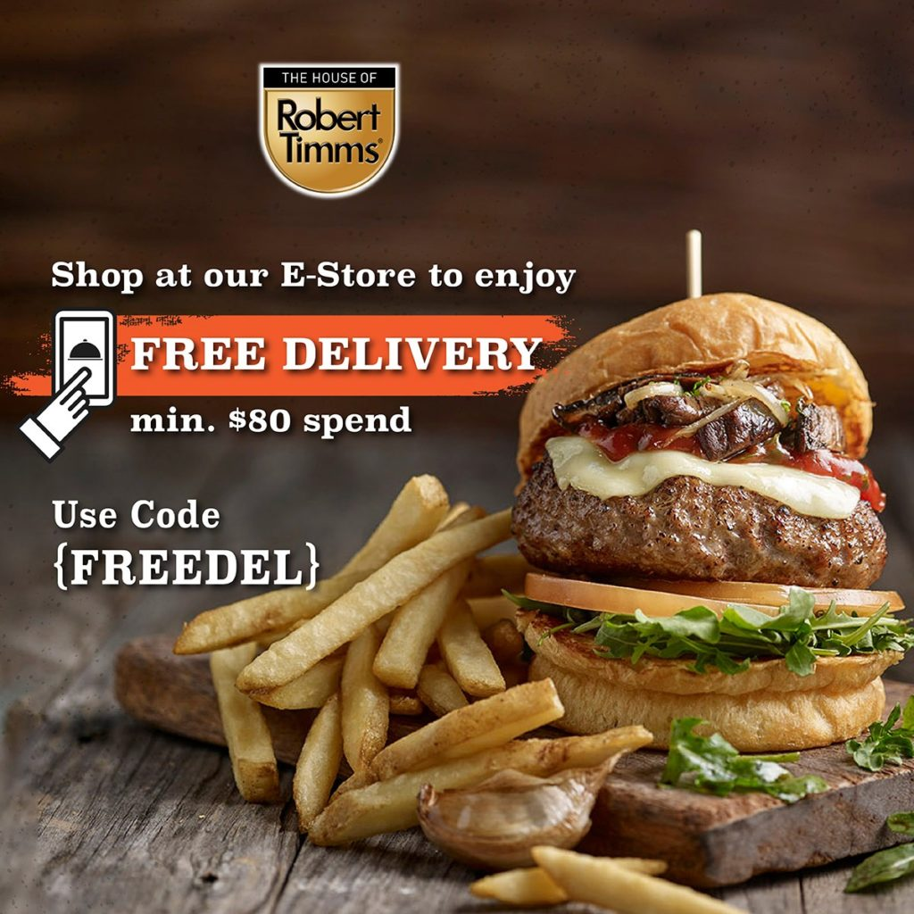 [Promotion] $10 Takeaway Voucher, FREE Coffee & FREE Delivery from tcc & The House Of Robert Timms   Why Not Deals 2