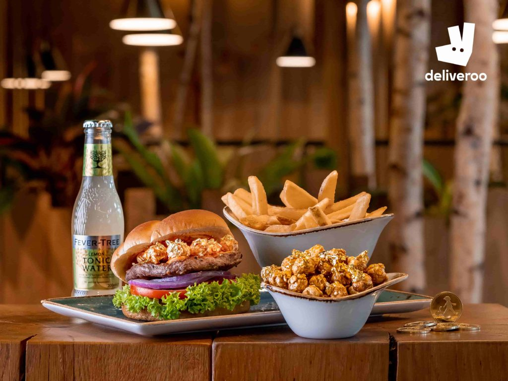Deliveroo and HANS IM GLÜCK dish out a poppin' limited edition burger for International Hamburger Day   Why Not Deals