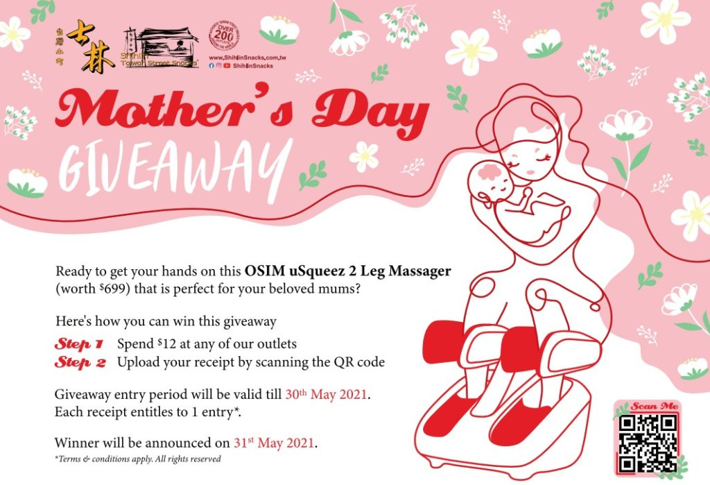 This Mother's Day, let Shihlin Taiwan Street Snacks pamper your mom with an ultimate giveaway! | Why Not Deals 2