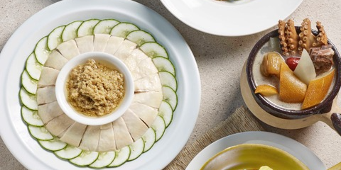 Enjoy S$15 off Soup Restaurant's online exclusive Stay Home Signature set