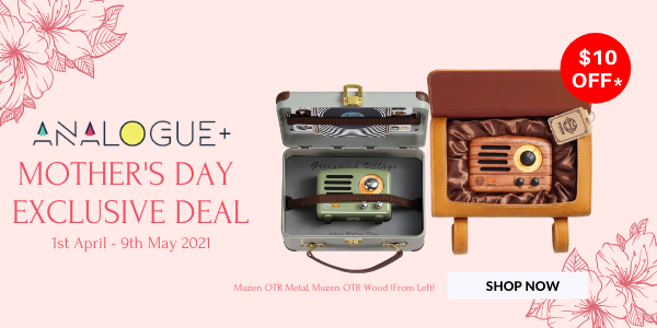 Analogue+ | Muzen Mother's Day Exclusive Deal