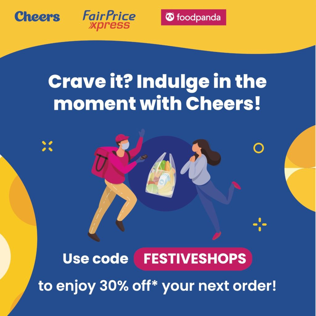 30% off Foodpanda when you shop with Cheers or FairPrice Xpress | Why Not Deals