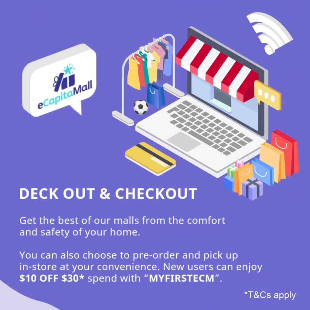eCapitaMall: Deck out & Checkout   Why Not Deals