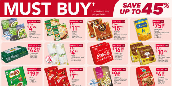 NTUC FairPrice Singapore Your Weekly Saver Promotions 13-19 May 2021