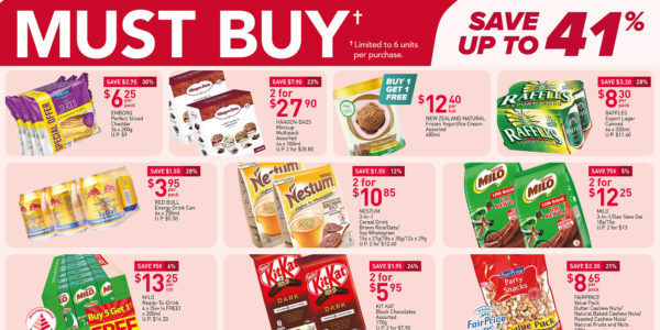 NTUC FairPrice Singapore Your Weekly Saver Promotions 20-26 May 2021