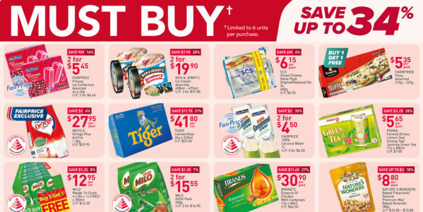 NTUC FairPrice Singapore Your Weekly Saver Promotions 6-12 May 2021