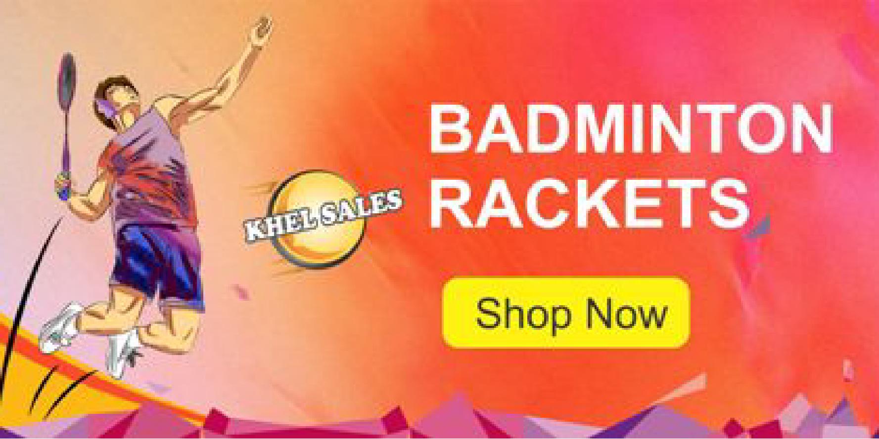 50% OFF on Badminton Racket