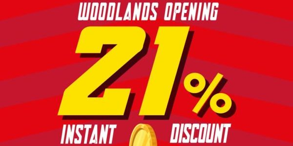 Sinopec Singapore Woodlands Opening Special 21% Off Promotion ends 3 Jun 2021