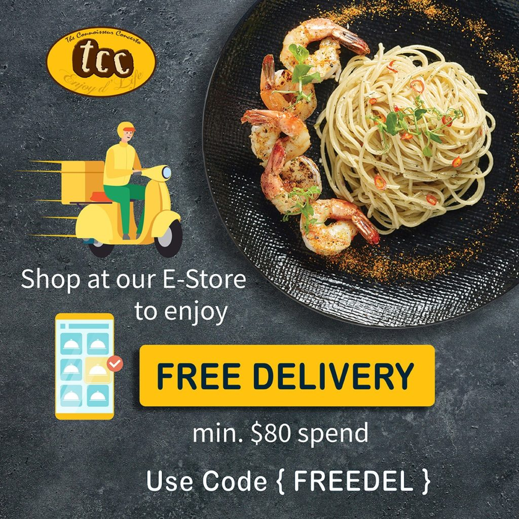 [Promotion] $10 Takeaway Voucher, FREE Coffee & FREE Delivery from tcc & The House Of Robert Timms   Why Not Deals 4