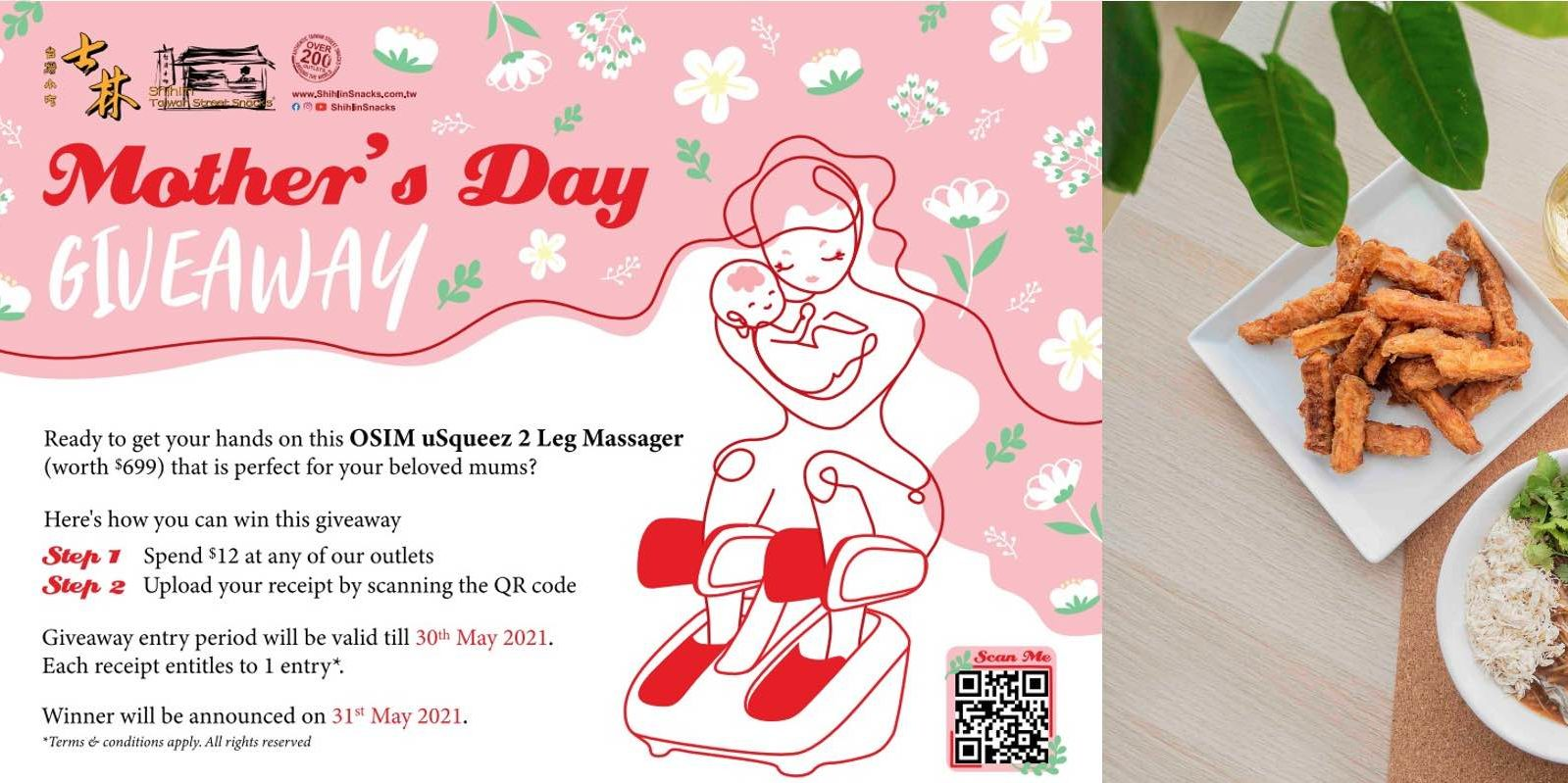 This Mother's Day, let Shihlin Taiwan Street Snacks pamper your mom with an ultimate giveaway!