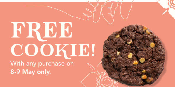 WangCafe Singapore FREE Cookies on Mother's Day 8-9 May 2021