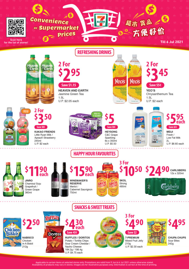 7-Eleven: Convenience At Supermarket Prices promotions (9 Jun - 6 Jul 2021) | Why Not Deals