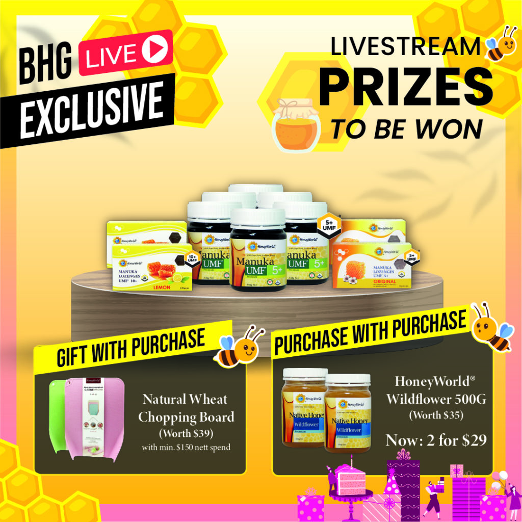 Un-BEE-lievably Sweet Deals, Giveaways, Promo Codes & More - BHG x HoneyWorld Live Stream with | Why Not Deals