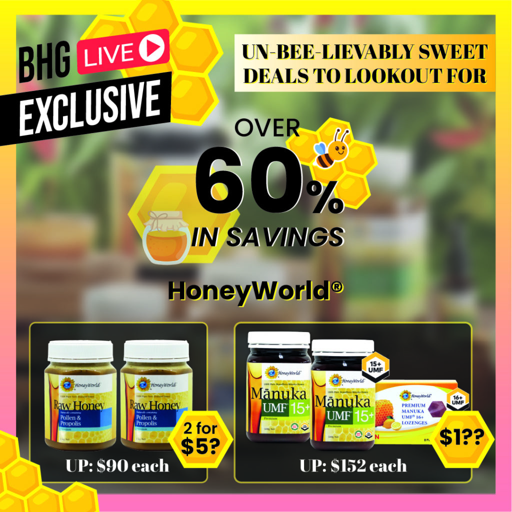 Un-BEE-lievably Sweet Deals, Giveaways, Promo Codes & More - BHG x HoneyWorld Live Stream with | Why Not Deals 1