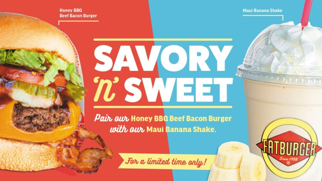 For a limited time only, let Fatburger take you to the best of both worlds with the perfect Savoury | Why Not Deals