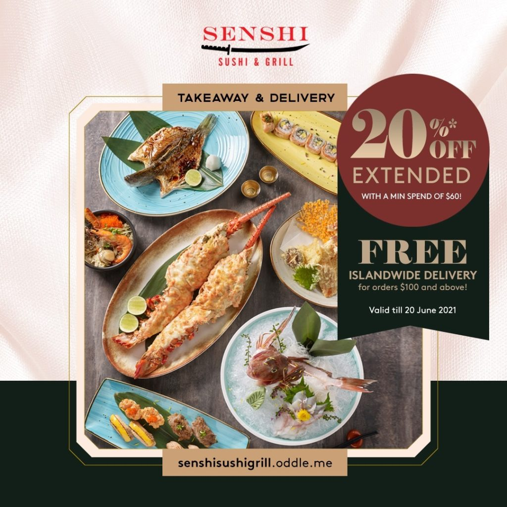 SENSHI Celebrates Father's Day with extended 20% off all Takeaway and Delivery orders | Why Not Deals