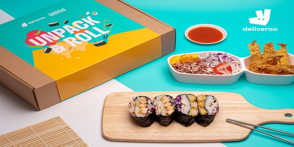 Have a rollin' good time with Deliveroo and WOOSHI's limited edition DIY sushi making family kit!