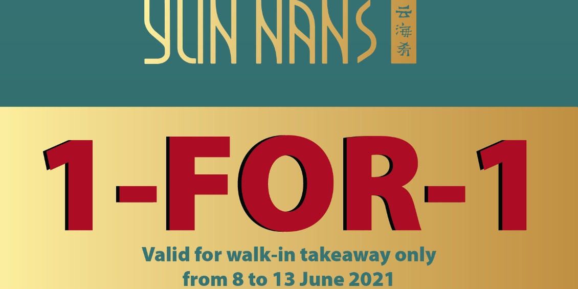 YUN NANS Westgate Special Reopening 1-for-1 Offer!