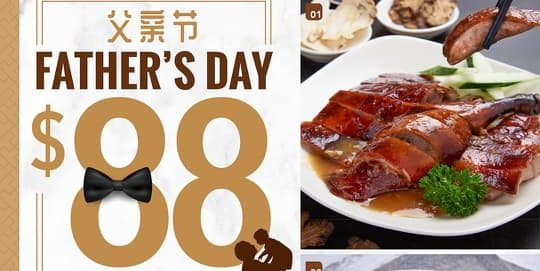 Dian Xiao Er Singapore Father's Day Value Set For 4 At $88 Promotion ends 20 Jun 2021