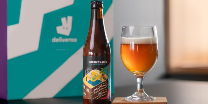 Say I loaf you this Father's Day with Deliveroo and CRUST's free upcycled Toasted Lager