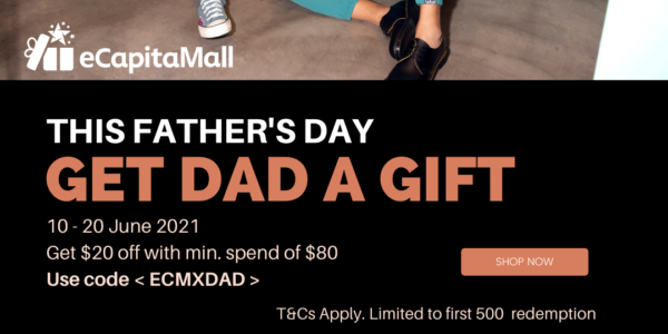 eCapitaMall: Father's Day