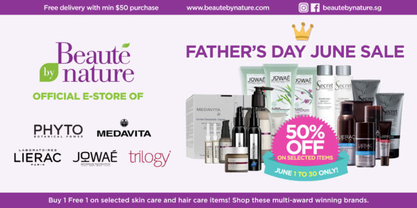 Find the perfect gift for Dad when you shop the Beaute by Nature June sale!