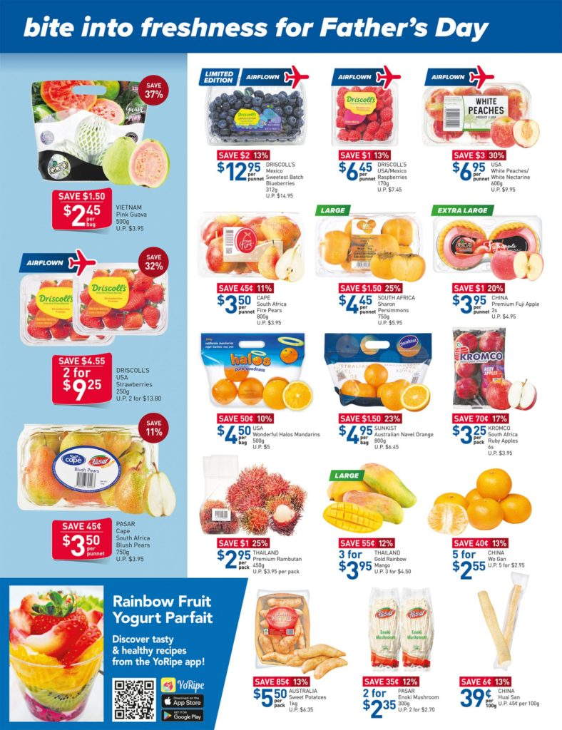 NTUC FairPrice Singapore Your Weekly Saver Promotions 10-16 Jun 2021   Why Not Deals 12