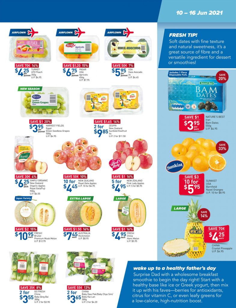 NTUC FairPrice Singapore Your Weekly Saver Promotions 10-16 Jun 2021   Why Not Deals 13