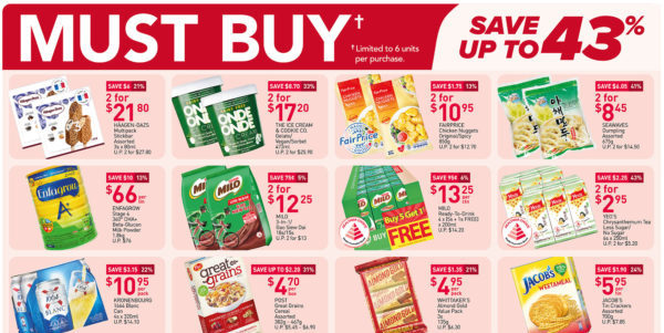 NTUC FairPrice Singapore Your Weekly Saver Promotions 10-16 Jun 2021