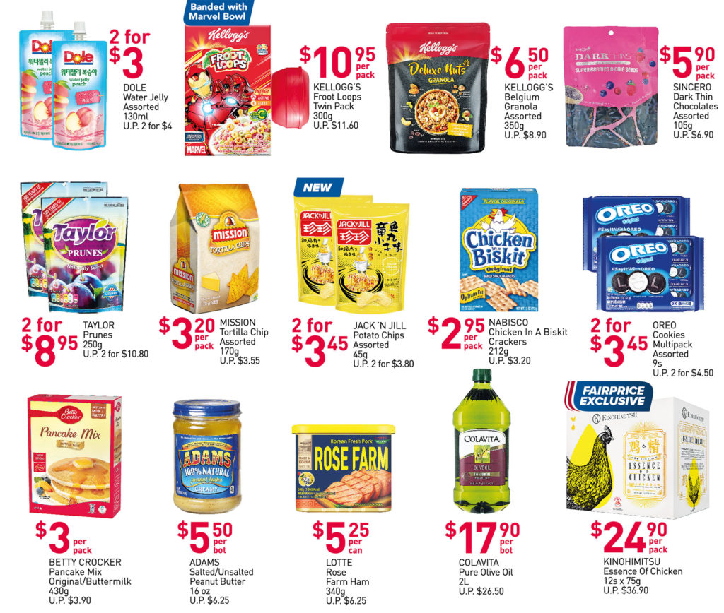 NTUC FairPrice Singapore Your Weekly Saver Promotions 10-16 Jun 2021   Why Not Deals 3