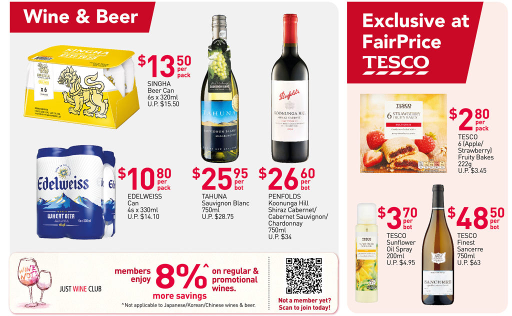 NTUC FairPrice Singapore Your Weekly Saver Promotions 10-16 Jun 2021   Why Not Deals 8