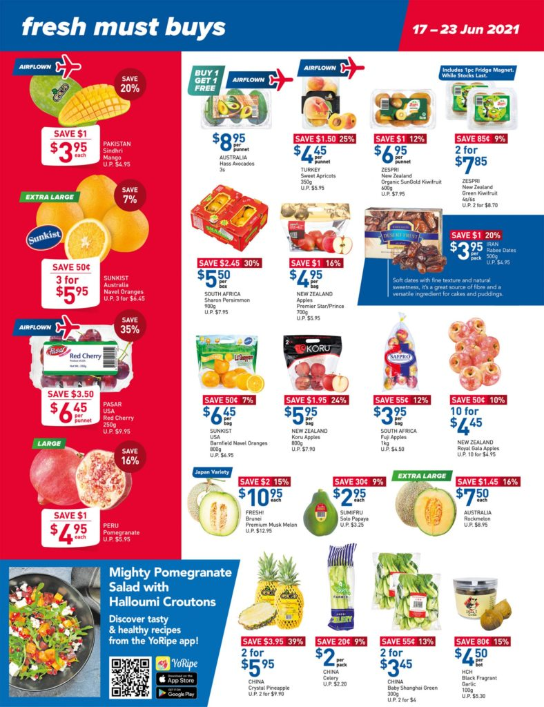 NTUC FairPrice Singapore Your Weekly Saver Promotions 17-23 Jun 2021 | Why Not Deals 11