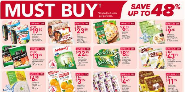 NTUC FairPrice Singapore Your Weekly Saver Promotions 17-23 Jun 2021