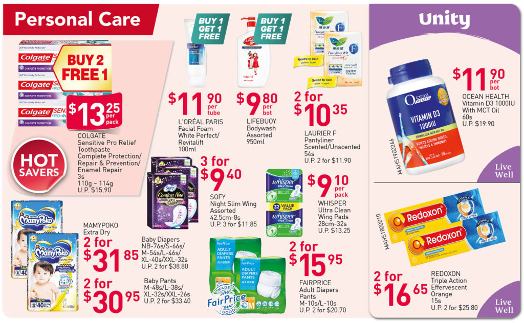 NTUC FairPrice Singapore Your Weekly Saver Promotions 17-23 Jun 2021 | Why Not Deals 6