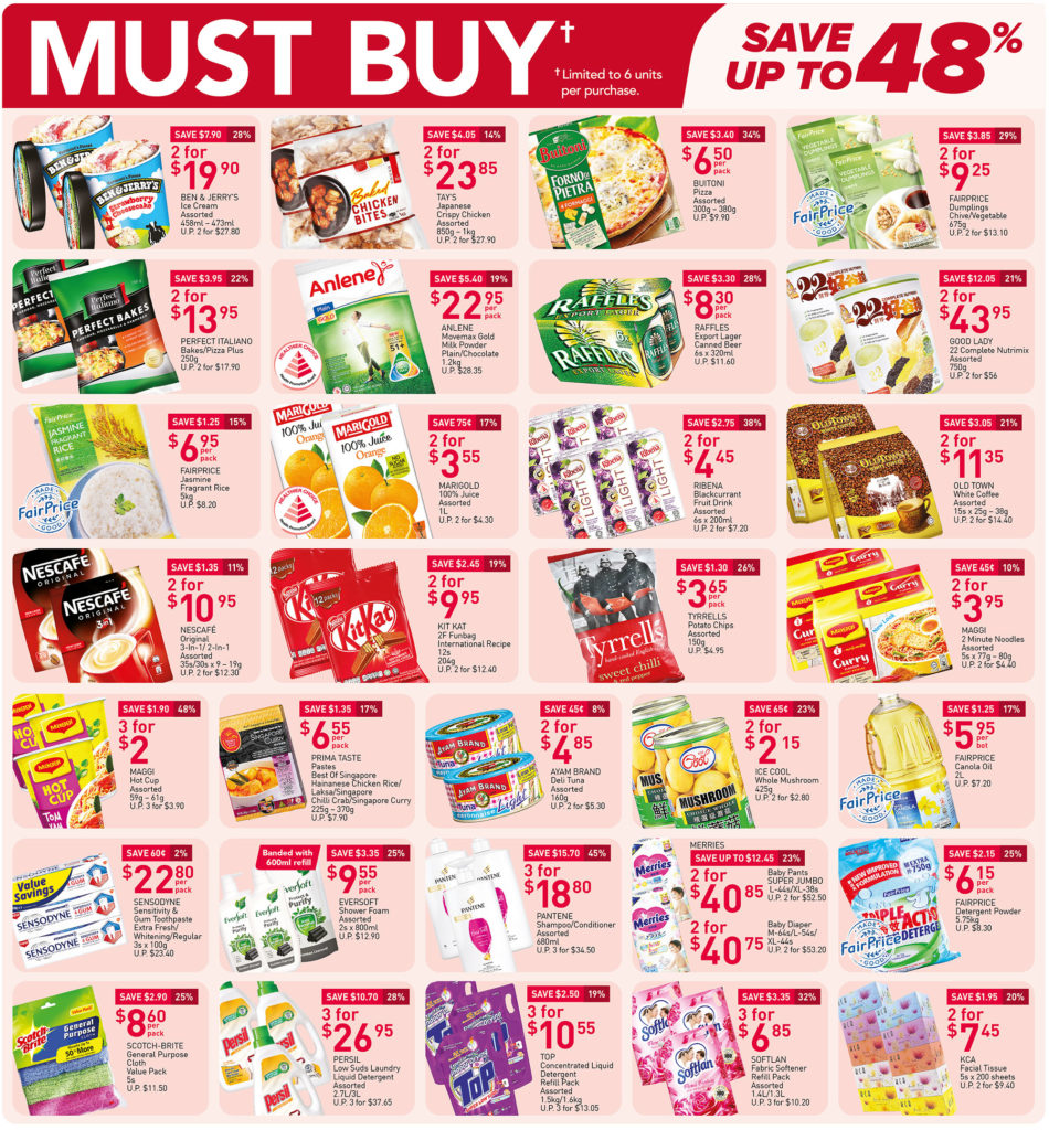 NTUC FairPrice Singapore Your Weekly Saver Promotions 17-23 Jun 2021 | Why Not Deals