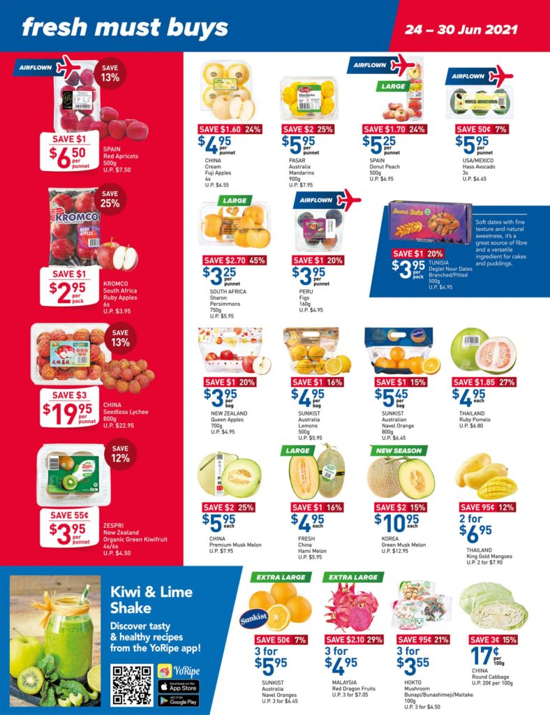 NTUC FairPrice Singapore Your Weekly Saver Promotions 24-30 Jun 2021   Why Not Deals 10