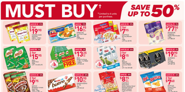 NTUC FairPrice Singapore Your Weekly Saver Promotions 24-30 Jun 2021