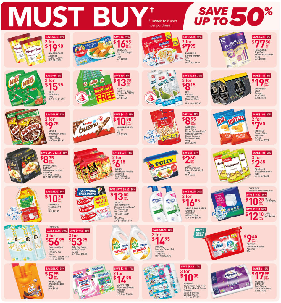 NTUC FairPrice Singapore Your Weekly Saver Promotions 24-30 Jun 2021   Why Not Deals