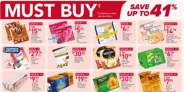 NTUC FairPrice Singapore Your Weekly Saver Promotions 3-9 Jun 2021