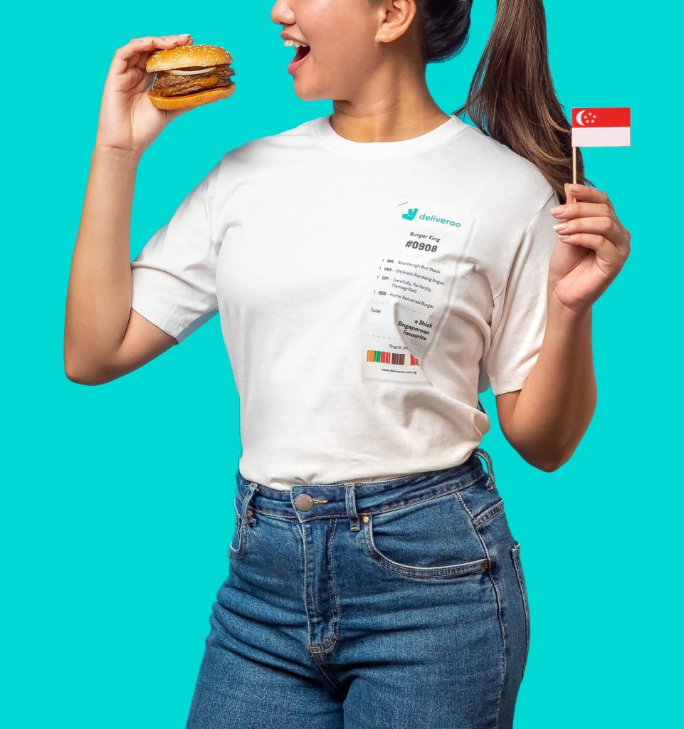 Deliveroo & BURGER KING(R)'s Exclusive National Day Tee | Why Not Deals 2