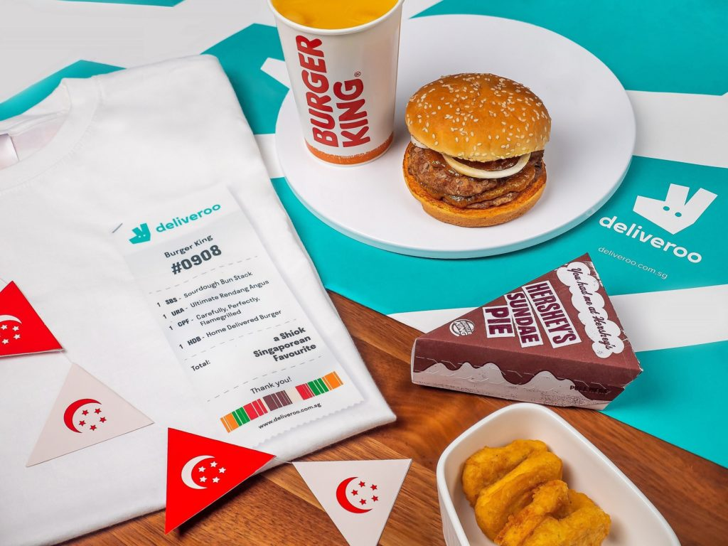 Deliveroo & BURGER KING(R)'s Exclusive National Day Tee | Why Not Deals