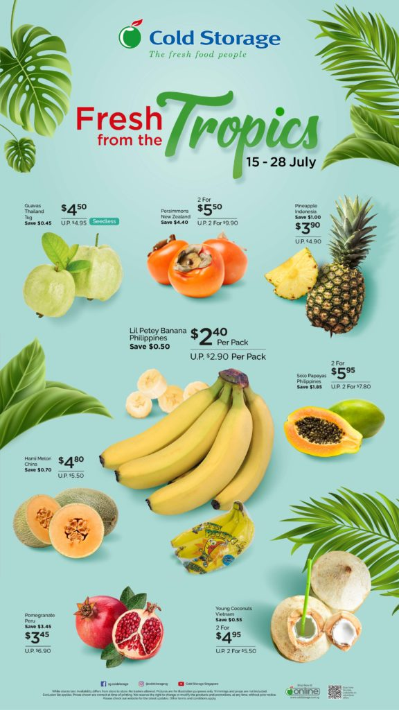 Fresh From The Tropics | Why Not Deals