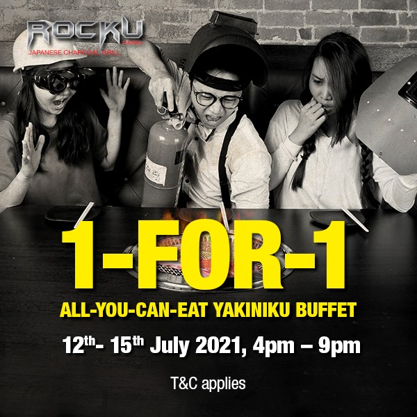 1-for-1 All You Can Eat Rocku yakiniku This July   Why Not Deals