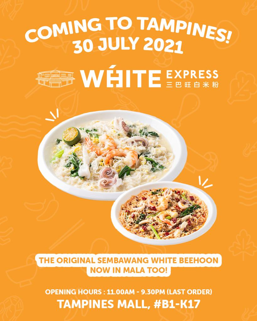 Original Sembawang White Beehoon Opens First-ever Express Concept @ Tampines - White Express   Why Not Deals