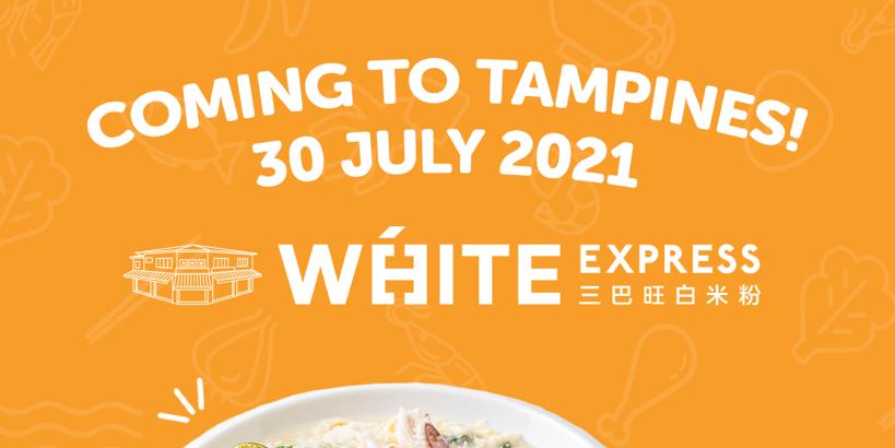 Original Sembawang White Beehoon Opens First-ever Express Concept @ Tampines – White Express