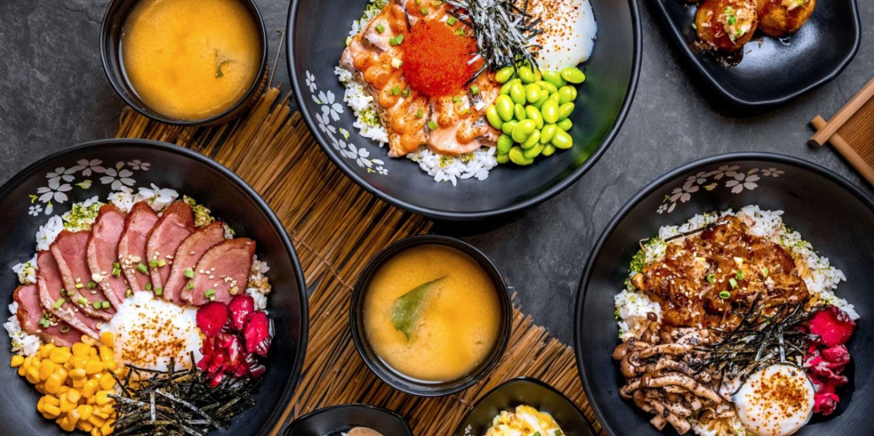 30% OFF All-New Akita Komachi Rice Bowls – including Yakitori Chicken with Truffled Mush