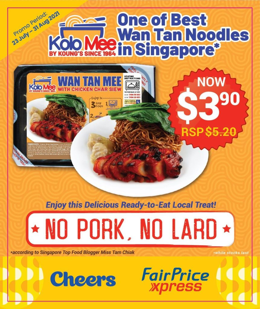 Ready Meals by Les Amis founder available at Cheers & FairPrice Xpress for less than $5! | Why Not Deals 1