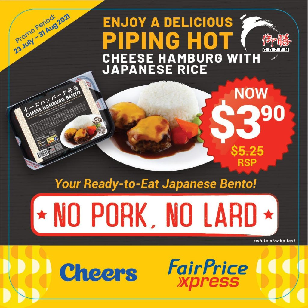 Ready Meals by Les Amis founder available at Cheers & FairPrice Xpress for less than $5! | Why Not Deals 2
